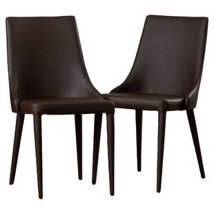 Sherwood Bi-cast Leather Upholstered Dining Chair (Set of 2)