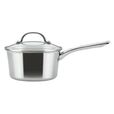 Covered Saucepan 3 qt. Stainless Steel Sauce Pan  with Lid Ayesha Curry