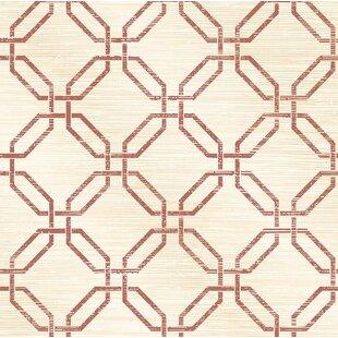 Phaius Trellis 10m x 52cm Wallpaper Roll by East Urban Home