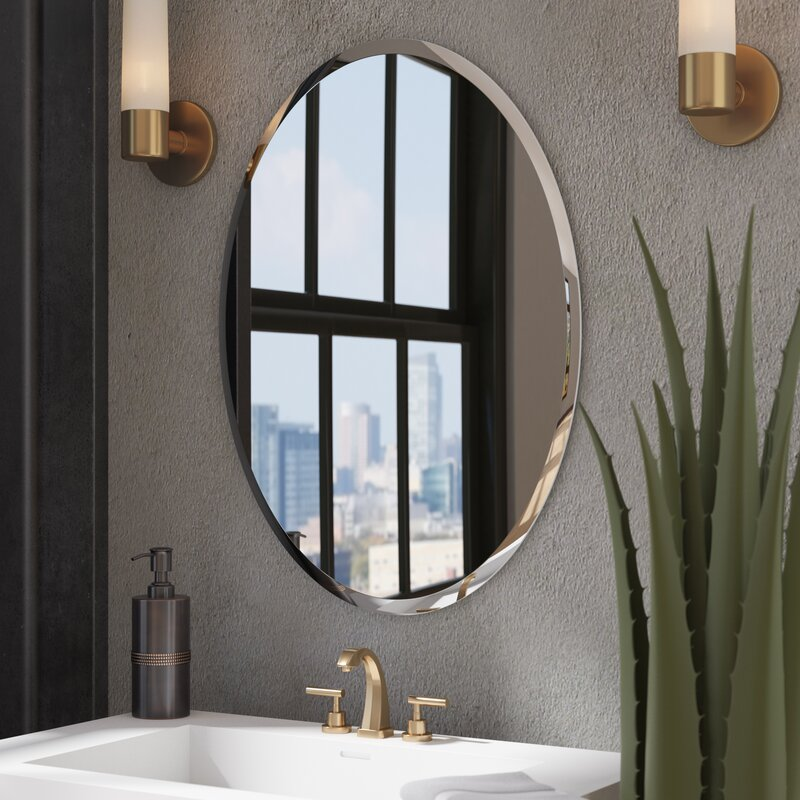 Wade Logan Kayden Bathroom Mirror Amp Reviews Wayfair