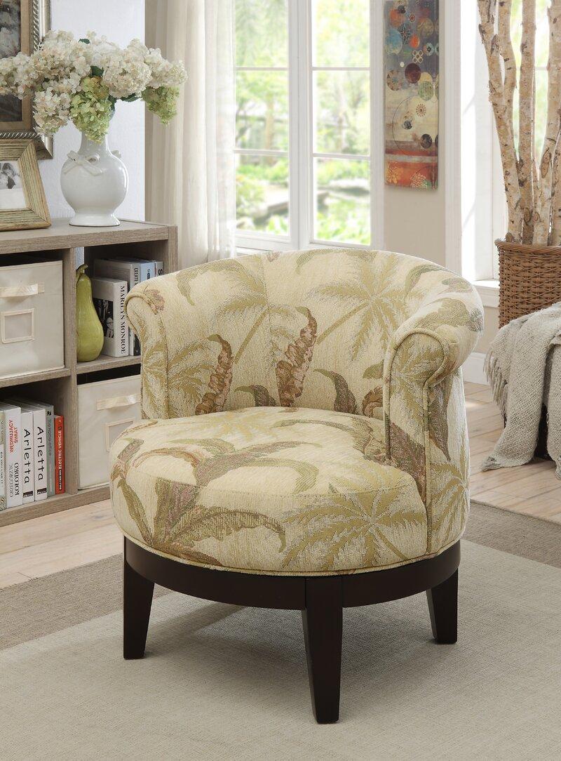 Haywood Swivel Barrel Chair