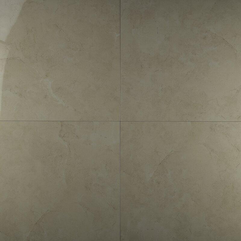 Msi Pietra Marfil 18 X 18 Porcelain Field Tile In Beige Reviews