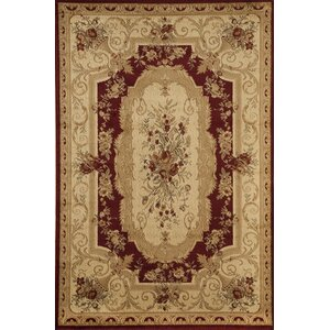 Berghoff Red/Ivory Area Rug