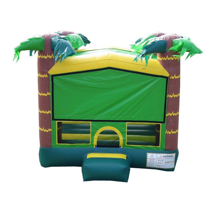 37bdcaa62e907 JumpOrange Tropical Aloha Bounce House