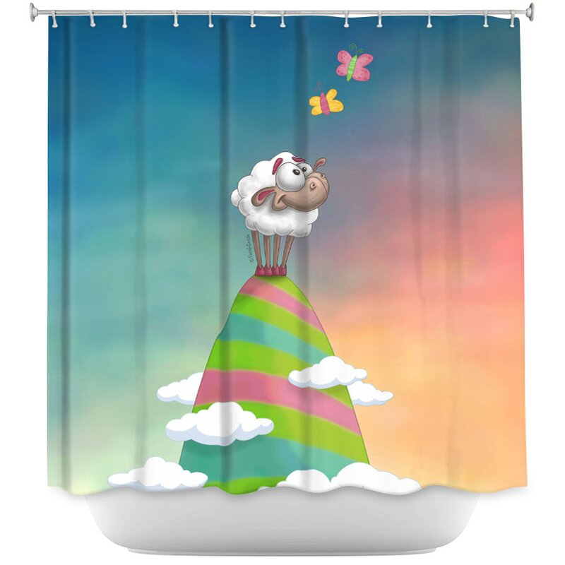Willo Sheep Shower Curtain