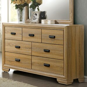 Campbell Contemporary 5 Drawer Dresser by Union Rustic