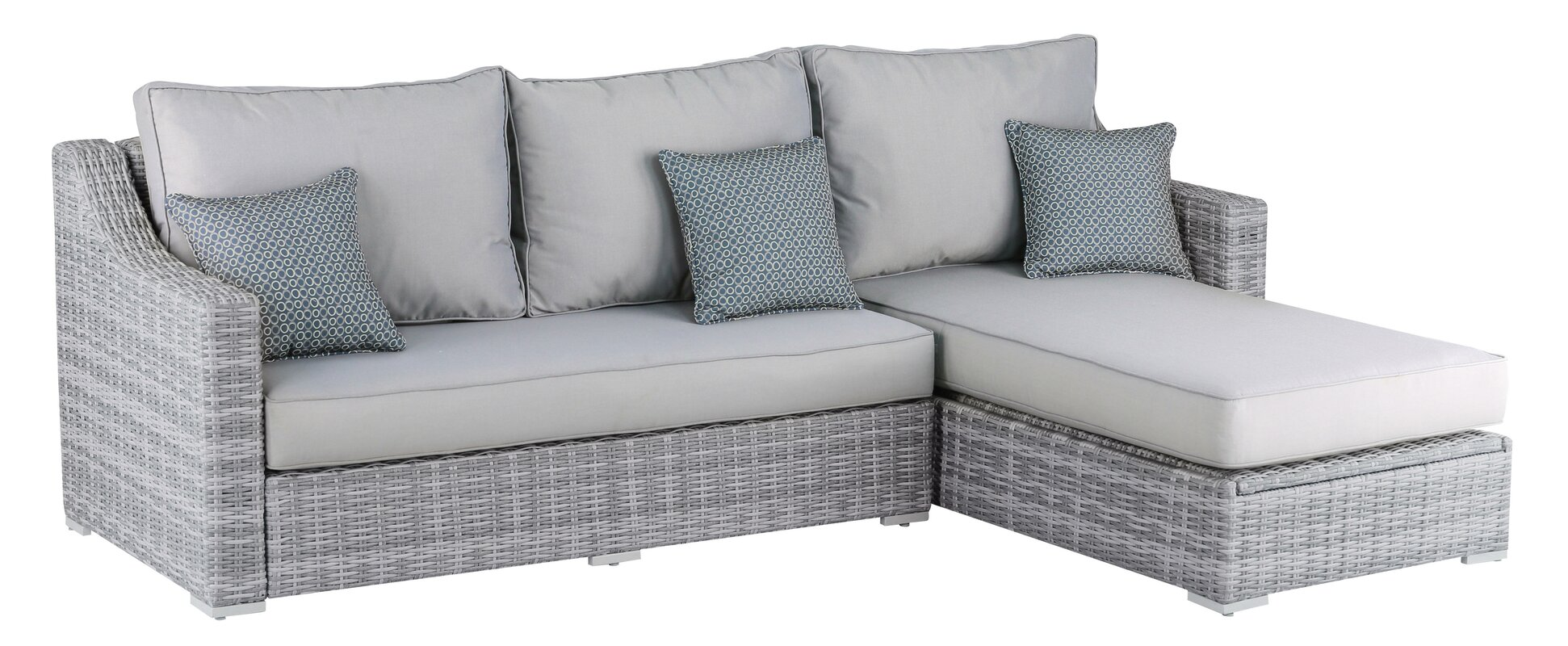 Nathaniel Storage Sectional  sc 1 st  Joss u0026 Main : sectional with storage - Sectionals, Sofas & Couches