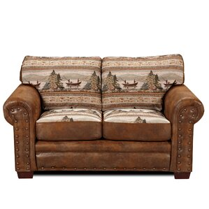 Lodge Alpine Loveseat by American Furniture Classics