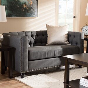 Stonybrook Modern 2 Seater Chesterfield Love..