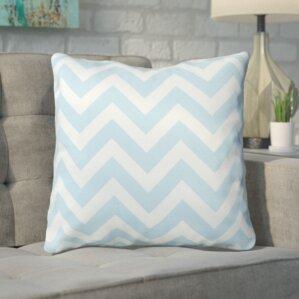 bollin chevron 100 cotton throw pillow