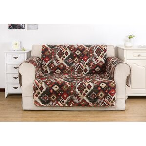 Folk Festival Rustic Quilted Loveseat Slipcover by Greenland Home Fashions