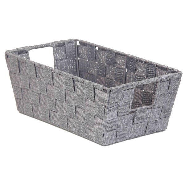Rebrilliant Strap Non Woven Storage Basket | Wayfair