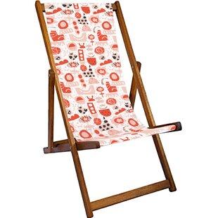 Clementine Reclining Deck Chair by Lynton Garden