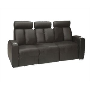 Ambassador Home Theater Sofa (Row of 3) by Bass