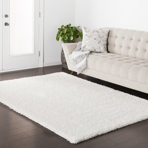 Red Hills White Area Rug