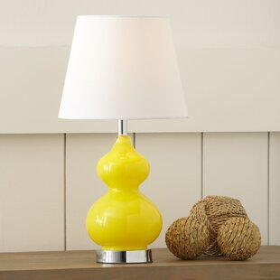 Yellow Shade Table Lamps