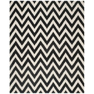 Wilson Hand-Tufted Black/White Area Rug by Safavieh