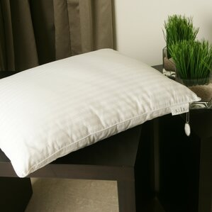 Silk-Filled Single Down Alternative Pillow by Silx Bedding