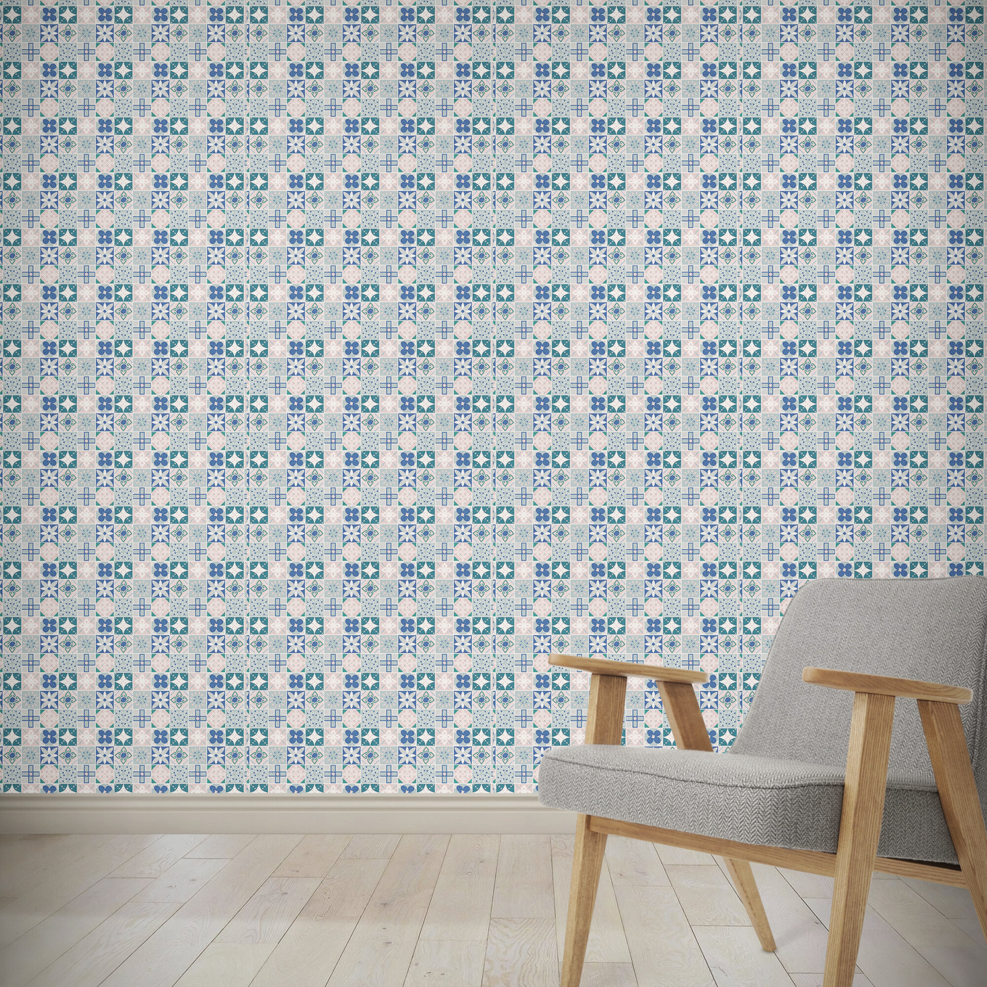 Wrought Studio Holub 4 L X 24 W And Stick Wallpaper Panel Wayfair