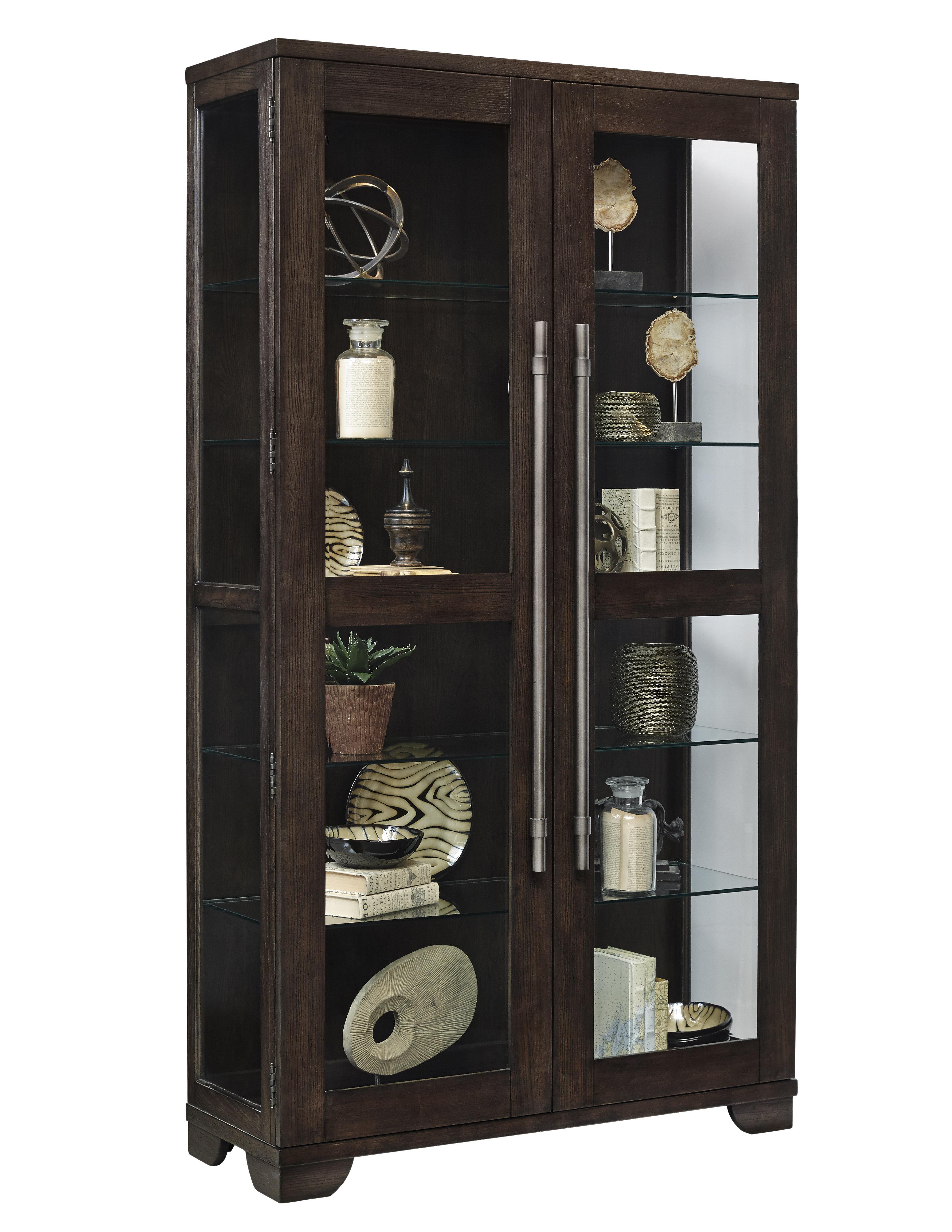 Quakertown Lighted Curio Cabinet