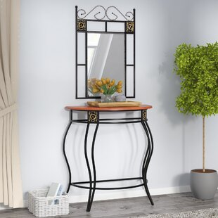 Entryway Table And Mirror Sets | Wayfair