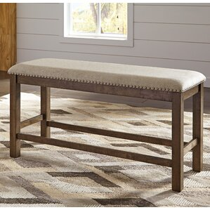 Hillary Upholstered Bench by Laurel Foundry Modern Farmhouse
