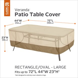Water Resistant Patio Table Cover