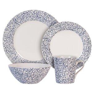 Free 4 Piece Place Setting Service for 1  sc 1 st  Wayfair & Leopard Print Dinnerware | Wayfair