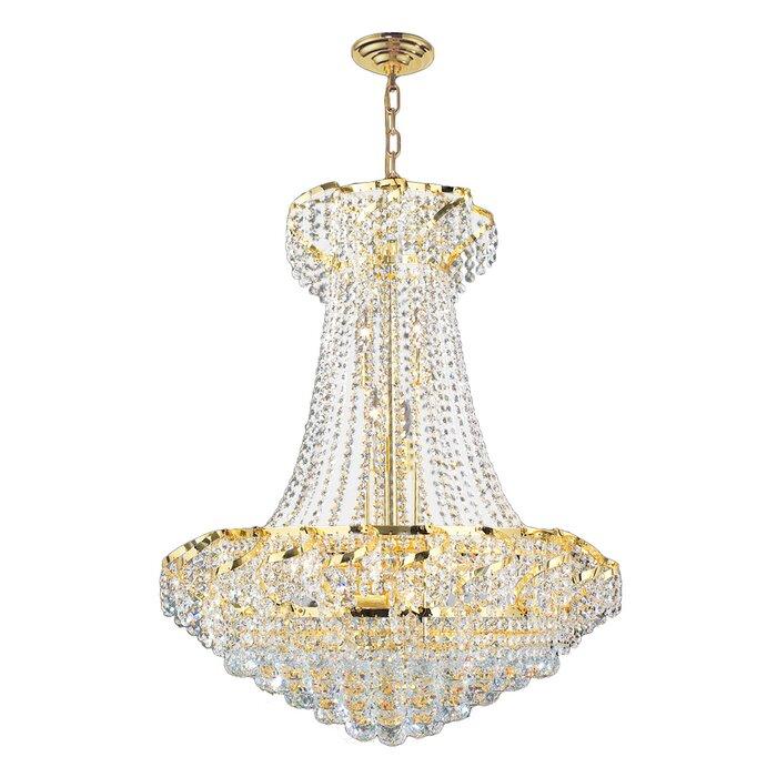 House of hampton carson 15 light crystal empire chandelier carson 15 light crystal empire chandelier aloadofball Gallery