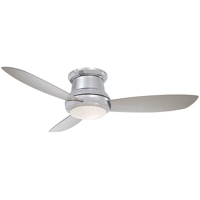 Minka aire 52 concept ii 3 blade led ceiling fan with remote 52 concept ii 3 blade led ceiling fan with remote aloadofball Images