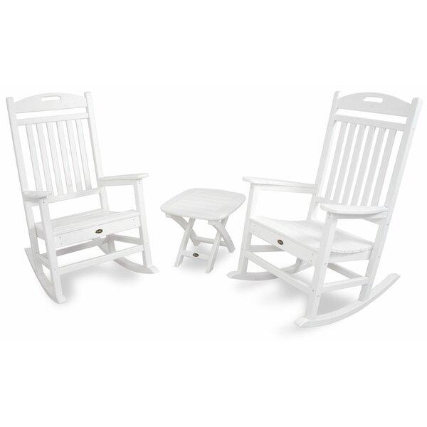 Ordinary Trex Rocking Chairs #23 - Trex Trex Outdoor Yacht Club 3 Piece Rocker Set U0026 Reviews | Wayfair