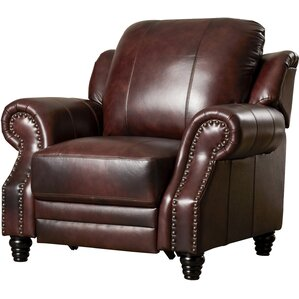 Harvard Leather Wing Recliner
