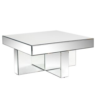 Beau Lucy Mirrored Coffee Table