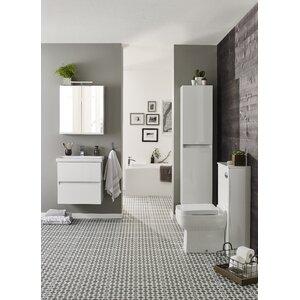 Kartell 60 cm Wandmontiertes Waschtisch-Set