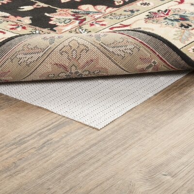 Symple Stuff Houchin PVC Non-Slip Polyester Rug Pad 0.04 Rug Pad Size: Rectangle 9'6 x 13'4