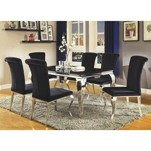 geraldina dining table - Silver Dining Table And Chairs