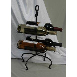 4 Bottle Tabletop Wine Rack