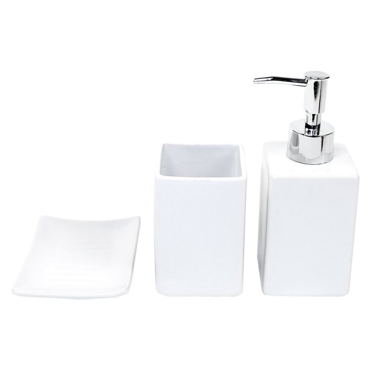Wells 3 Piece Bathroom Accessory Set