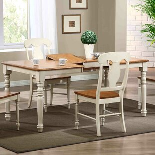 Extendable Extendable Solid Wood Dining Table