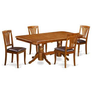 Pillsbury 5 Piece Extendable Dining Set