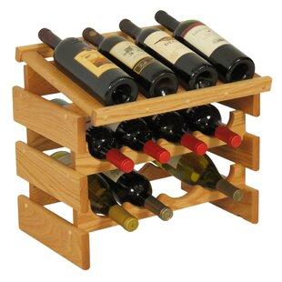 Dakota 12 Bottle Tabletop Wine Rack