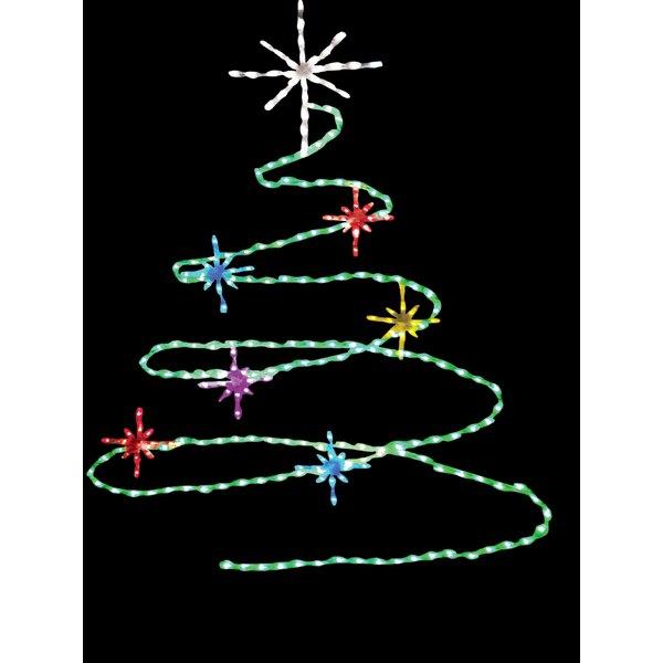 Spiral rope christmas tree wayfair aloadofball Images