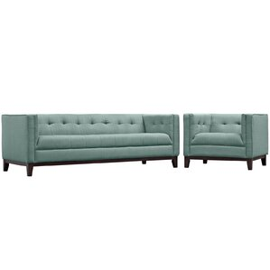 Serve 2 Piece Living Room Set by Modway