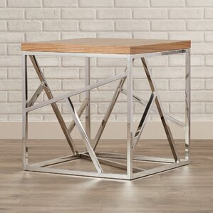 Hiller End Table by Brayden Studio