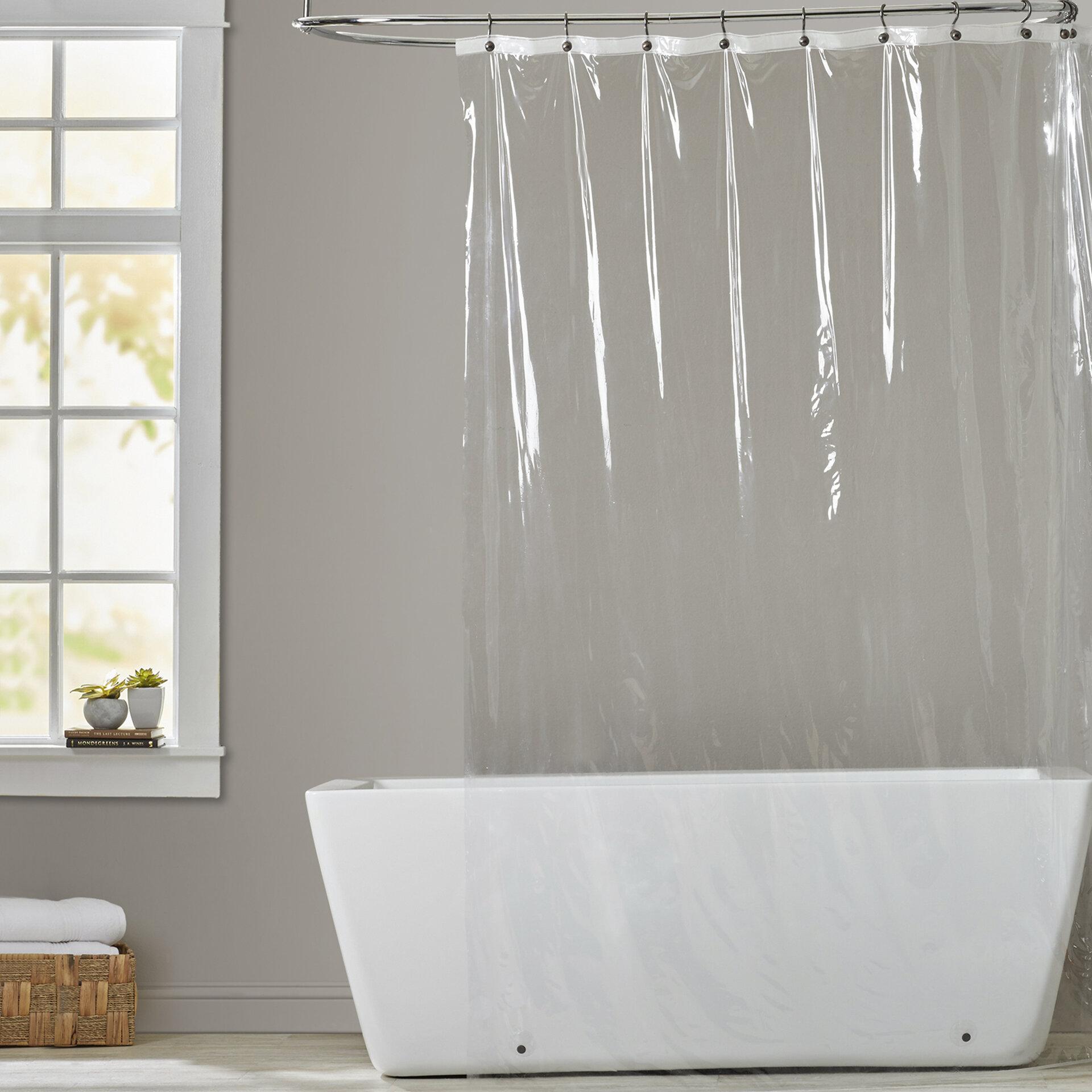 Symple Stuff 5 Gauge Vinyl Shower Curtain Liner Reviews