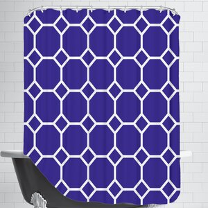 Navy Shower Curtain