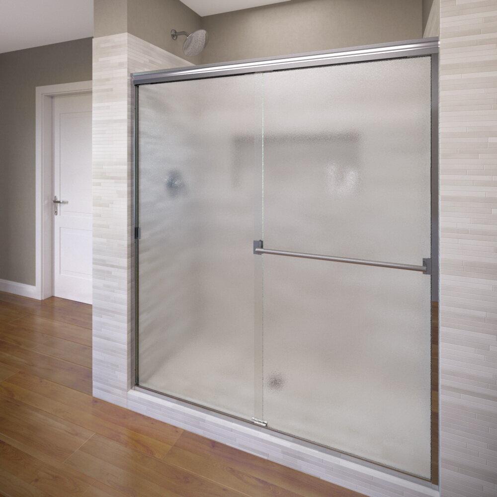 Basco Classic 44 X 655 Bypass Semi Frameless Shower Door