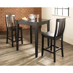 Kitchen Table Set pub tables & bistro sets you'll love | wayfair