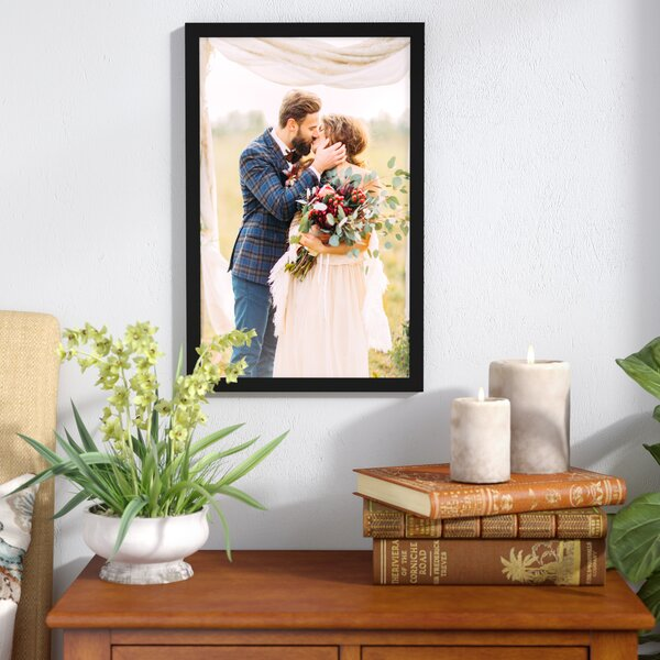 Double Photo Frame Picture Frames Folding Standing Hinged White 8x8 x2
