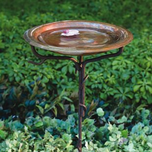 Solid Copper Birdbath. By Ancient Graffiti